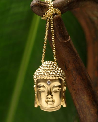 Buddhist Pendants on Great Gift For Someone Into Spirituality  The Buddha Head Pendant